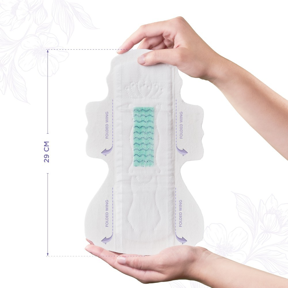 Pectiv Night Pads Online with flowers