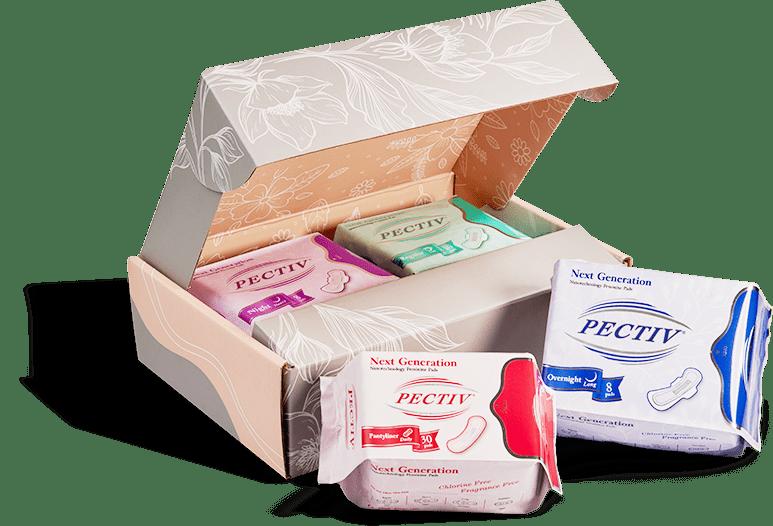 Pectiv - Sanitary Pads Box